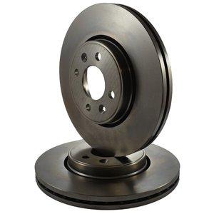 Спирачни дискове N група предни 283x26mm PSA 206 RC/ DS3 1.6 HDi-THP